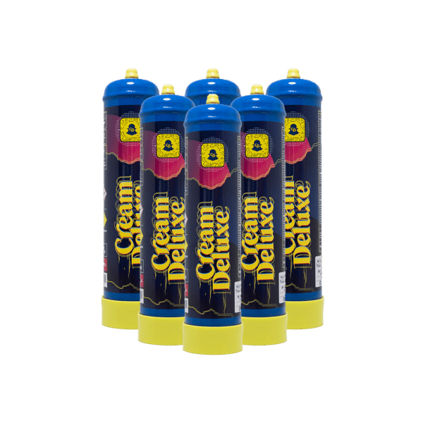 Cream Deluxe Nitrous Oxide Cylinder 615g 6 Pieces