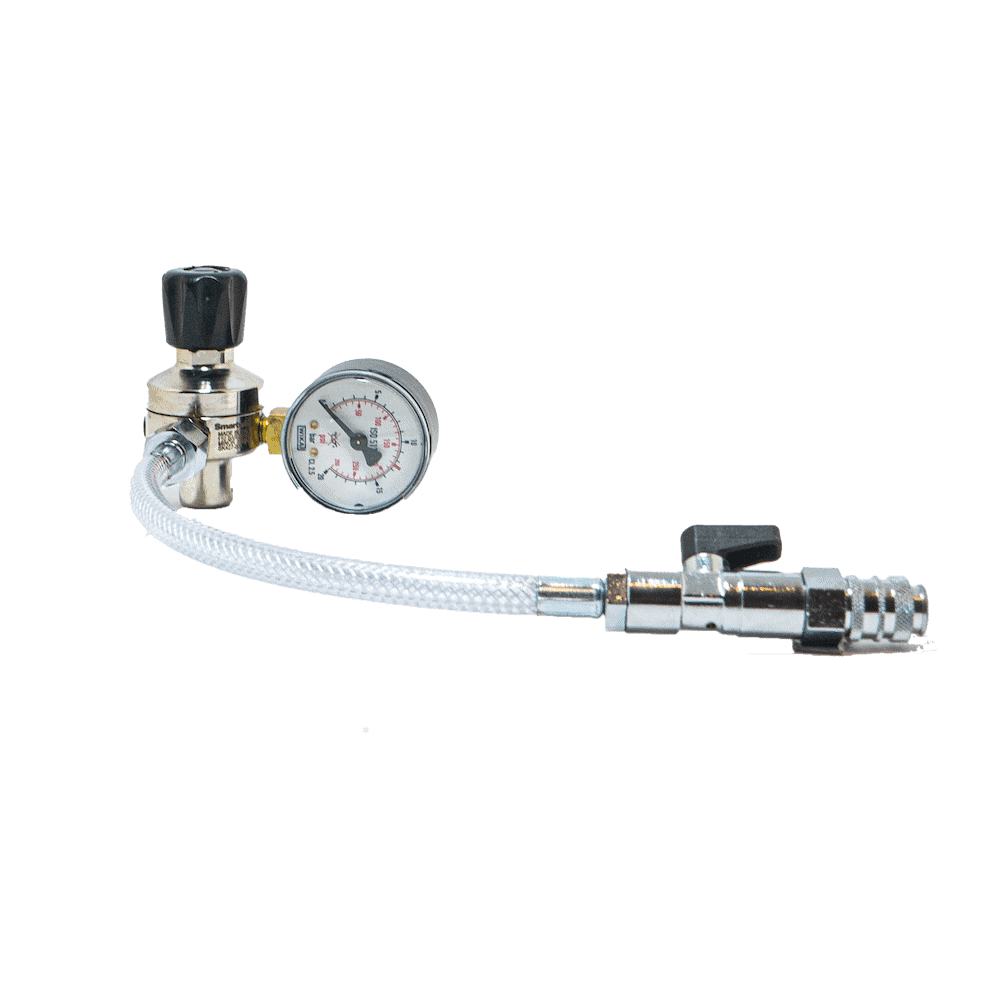Cream Deluxe Pressure Regulator